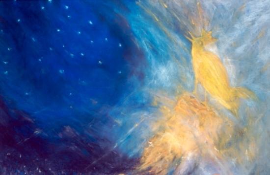Vivi's Spiritual Soft Pastel Painting 36